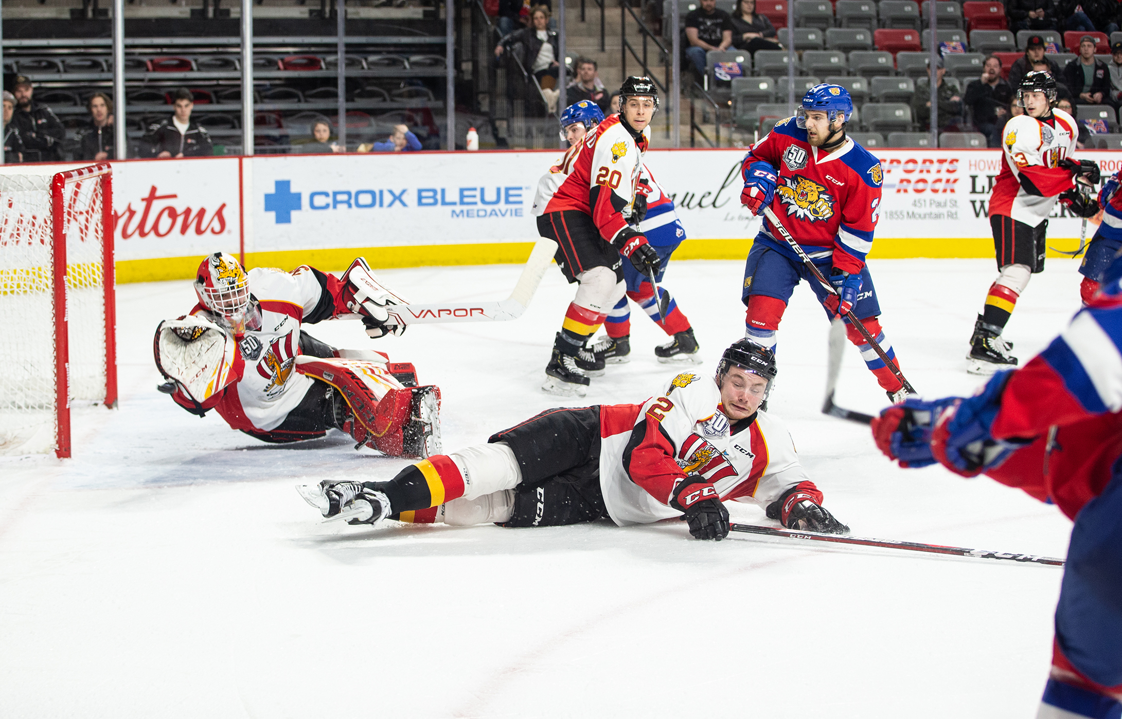 Moncton Hockey Photography: Baie-Comeau Drakkar vs Moncton Wildcats, QMJHL Playoff Action
