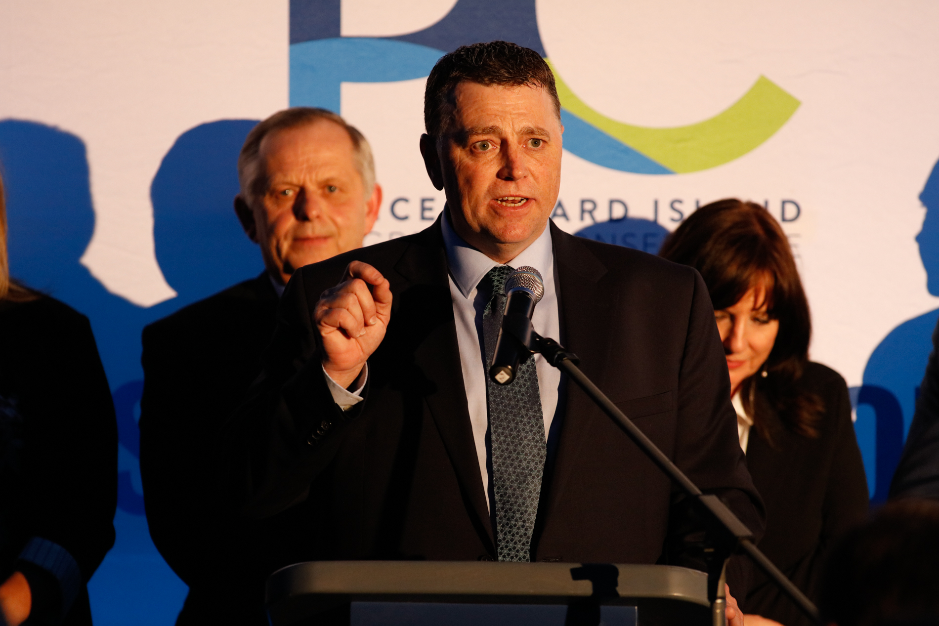 PEI Editorial Photography: PEI PC Party Kickoff in Winsloe, Prince Edward Island