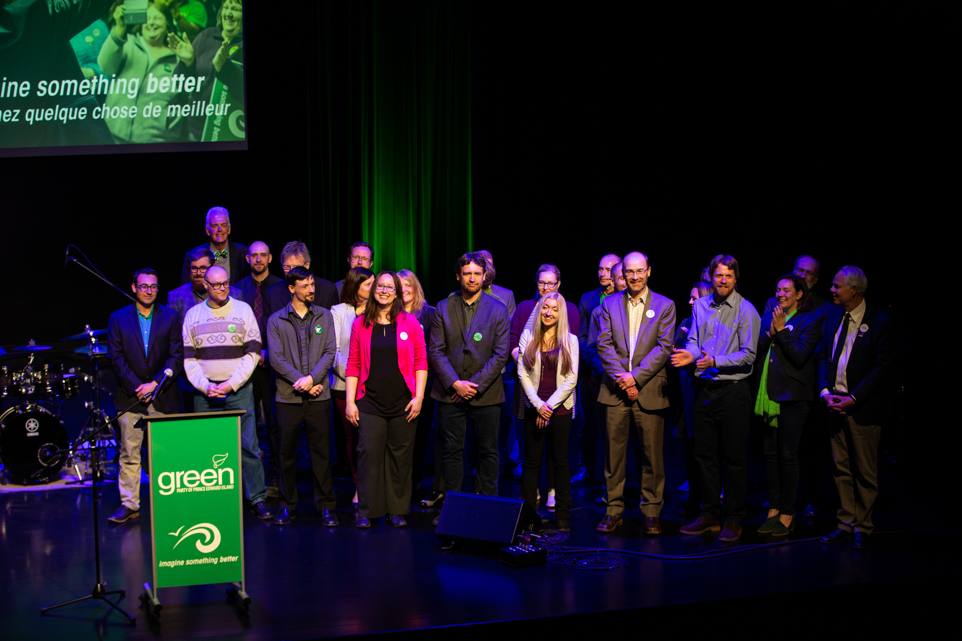 PEI Editorial Photography: PEI Green Party Rally